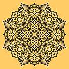Dense Mandala by ninthcircle
