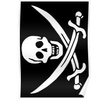 Life of Piracy - 'Calico' Jack Rackham Poster