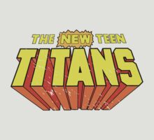 The New Teen Titans by Everwind