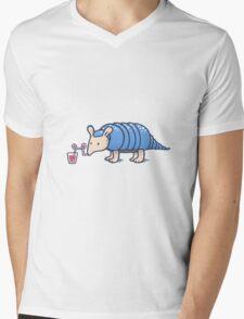 Juicy Armadillo Mens V-Neck T-Shirt