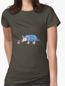 Juicy Armadillo Womens Fitted T-Shirt
