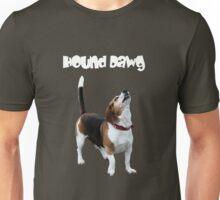 Hound Dawg Howling Beagle Funny  Unisex T-Shirt