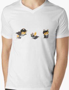 Fall Mens V-Neck T-Shirt