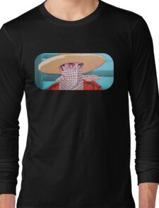 Cowboy PeeWee  Long Sleeve T-Shirt