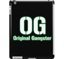 Original Gangster Text iPad Case/Skin
