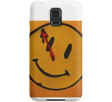 Watchmen Comedian Smiley Face Orange and Yellow Samsung Galaxy Case/Skin