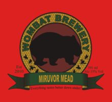 Wombat Brewery: Miruvor Mead One Piece - Short Sleeve