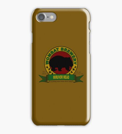Wombat Brewery: Miruvor Mead iPhone Case/Skin