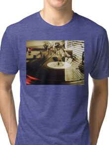 Turntables Tri-blend T-Shirt