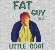Fat Guy in a Little Coat Baby Tee