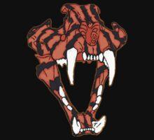 Tiger Skull by Louienidas