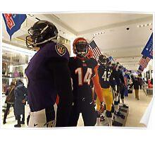 National Football League Uniforms, Super Bowl Week Celebration, Macys, New York City Poster
