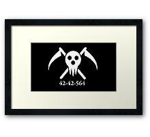 Soul Eater: DWMA Logo Framed Print