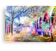 French Quarter Winter Canvas Print
