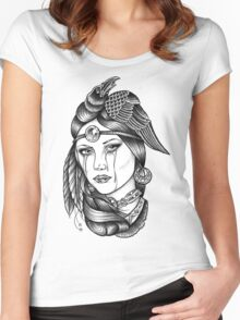 Native American Princess Women's Fitted Scoop T-Shirt