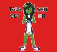 She-Hulk - Talk Shit Get Hit by lordofcats