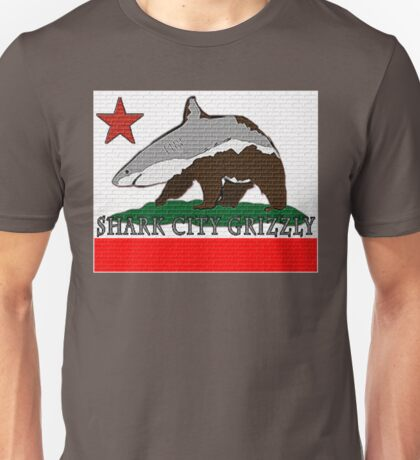 Shark City Grizzly Unisex T-Shirt