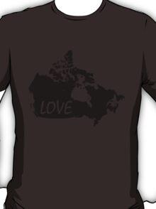 Canada Love T-Shirt