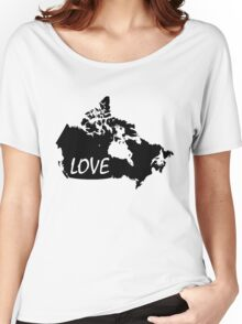 Canada Love Women's Relaxed Fit T-Shirt