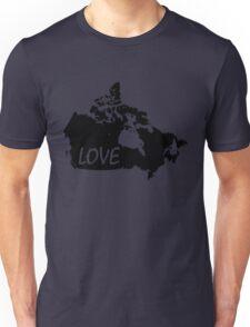 Canada Love Unisex T-Shirt