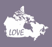 Canada Love Kids Clothes