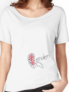 London Union Jack Women's Relaxed Fit T-Shirt