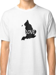 England Love Classic T-Shirt