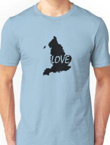 England Love Unisex T-Shirt