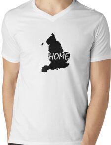 England Home Mens V-Neck T-Shirt