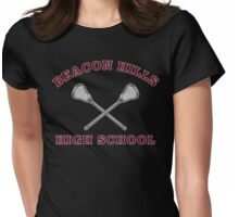 Beacon Hills High School Lacrosse Womens Fitted T-Shirt