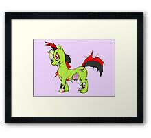 Friendship Is Deadly Framed Print
