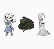 Daenerys Sticker Set by Reshma Zachariah