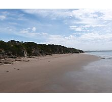 Looking Towards Town Center, Point Lonsdale Beach. Vic.  Photographic Print