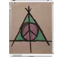 My Original Deathly Hallows and Peace Symbol iPad Case/Skin
