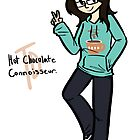 Tina Dayton - Hot Chocolate Connoisseur. by Skitty Vasquez