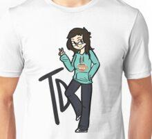 Tina Dayton - Hot Chocolate Connoisseur. Unisex T-Shirt