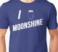 I Love Moonshine Unisex T-Shirt