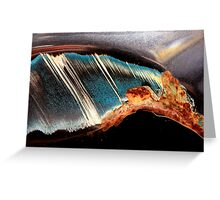 Volcanic Tsunami Greeting Card