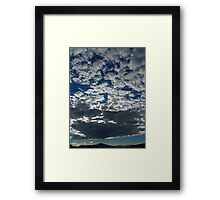 ©HCS The Winter Clouds Design IA Framed Print