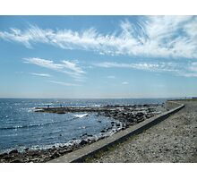 South Most Tip of Aquidneck Island, Ocean Drive Photographic Print