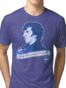 Sherlock Holmes T-shirt Tri-blend T-Shirt