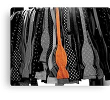 Bows, Untied Canvas Print