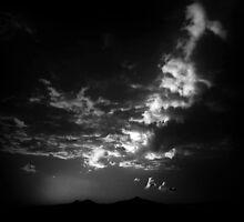 ©HCS Shine On Clouds IA Monochromatic by OmarHernandez