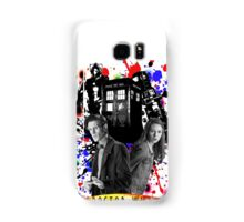 11th doctor &Amy Pond Samsung Galaxy Case/Skin