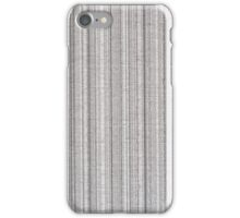 Grey fabric texture  iPhone Case/Skin