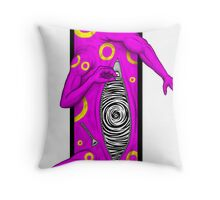 The Living Picture #4 - Arms Throw Pillow