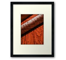 ©DA On Wood IA Framed Print