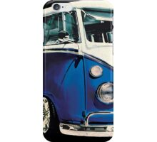 VW Bus Cool Blue iPhone Case/Skin