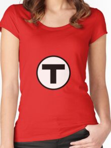 T shirt Women's Fitted Scoop T-Shirt