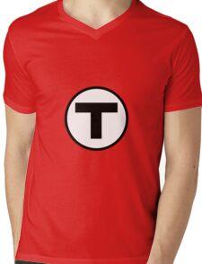 T shirt Mens V-Neck T-Shirt